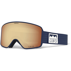 Giro Method Gafas, midnight alps/vivid copper/vivid infrared